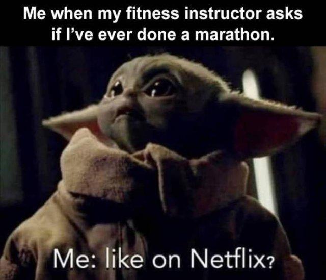 done a marathon