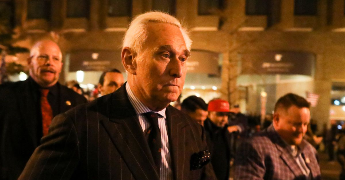 US sues Trump ally Roger Stone alleging he owes about 2 million in unpaid taxes