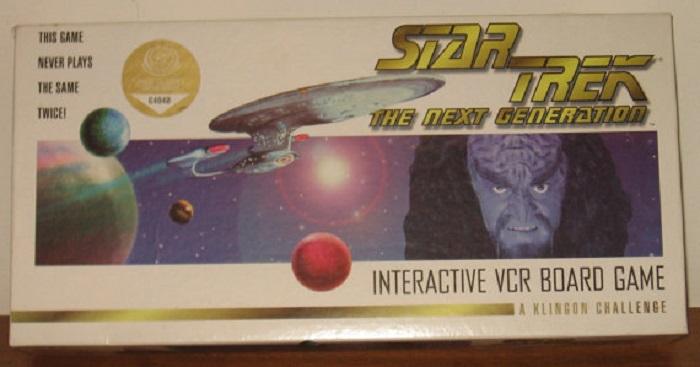 Star Trek the Next Generation Interactive VHS Board Game Video Game 1995 – IMDb