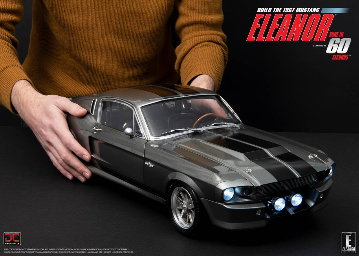 Die-Cast 18th-Scale Eleanor Mustang Is Awesomely Detailed