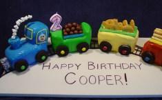 Choo Choo Train Cake-001