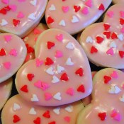 Heart Cookies - Lightened