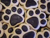Paw Print Cookies