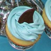 Shark Cupcakes 4