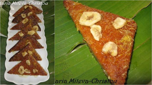 Сладкиш с Банани и Мед
