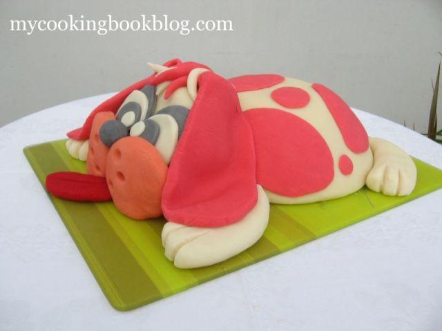 Торта Розово  Куче