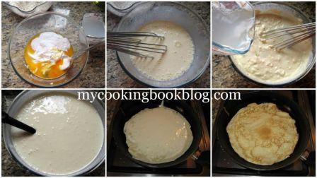 Палачинки с Кисело мляко