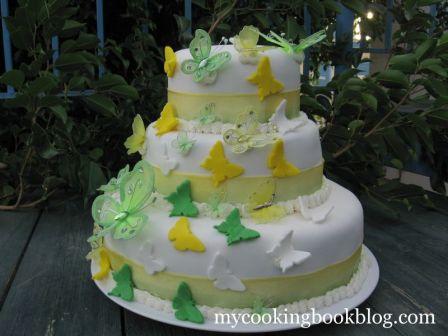 Торта с Пеперуди