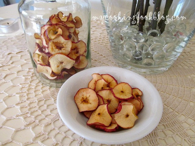 Как се сушат ябълки