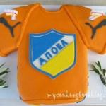 Торта блуза на Апоел