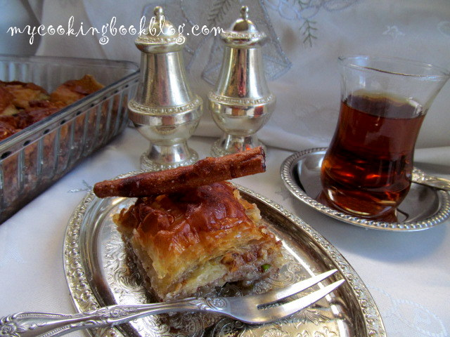 Мароканска баклава (Maroccan Baklava) с орехи, бадеми и шамфъстък