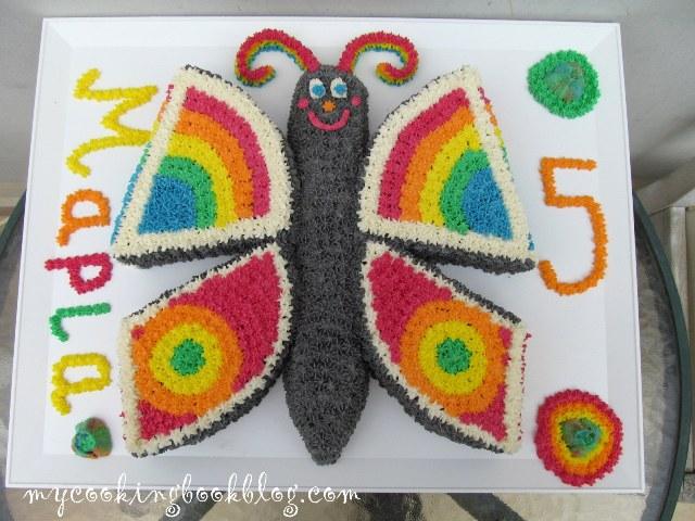Торта пеперуда