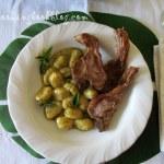 Ньоки (Gnocchi) с песто и агнешки котлети