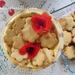 Бисквити с кокос и глазиран ананас