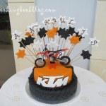 Торта KTM racing