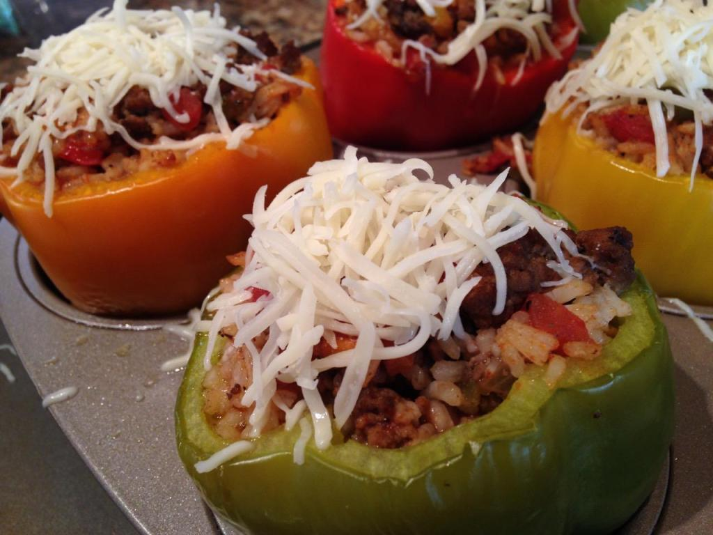 Classic Stuffed Bell Peppers - 20