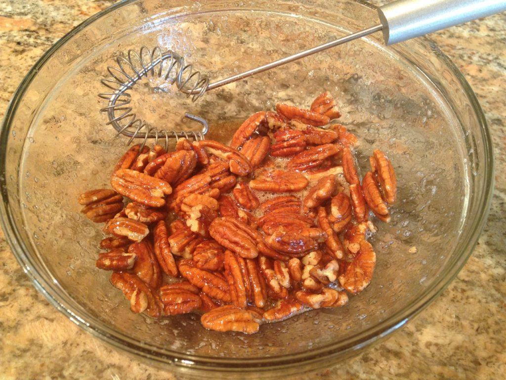 Pumpkin Spiced Toasted Pecans - 3