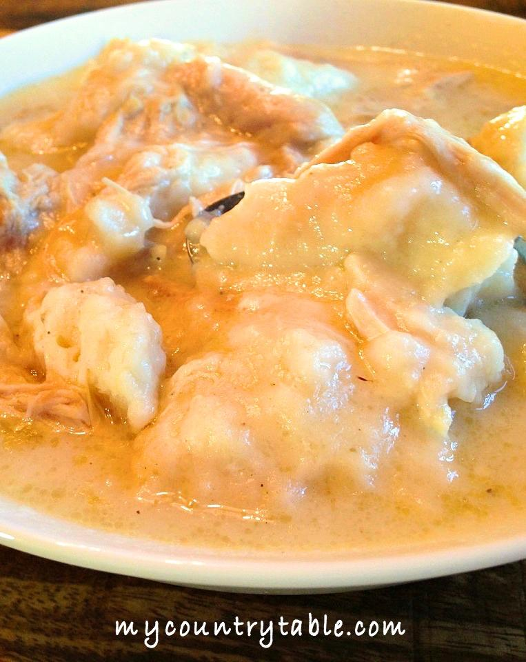 Southern Chicken & Fluffy Dumplings