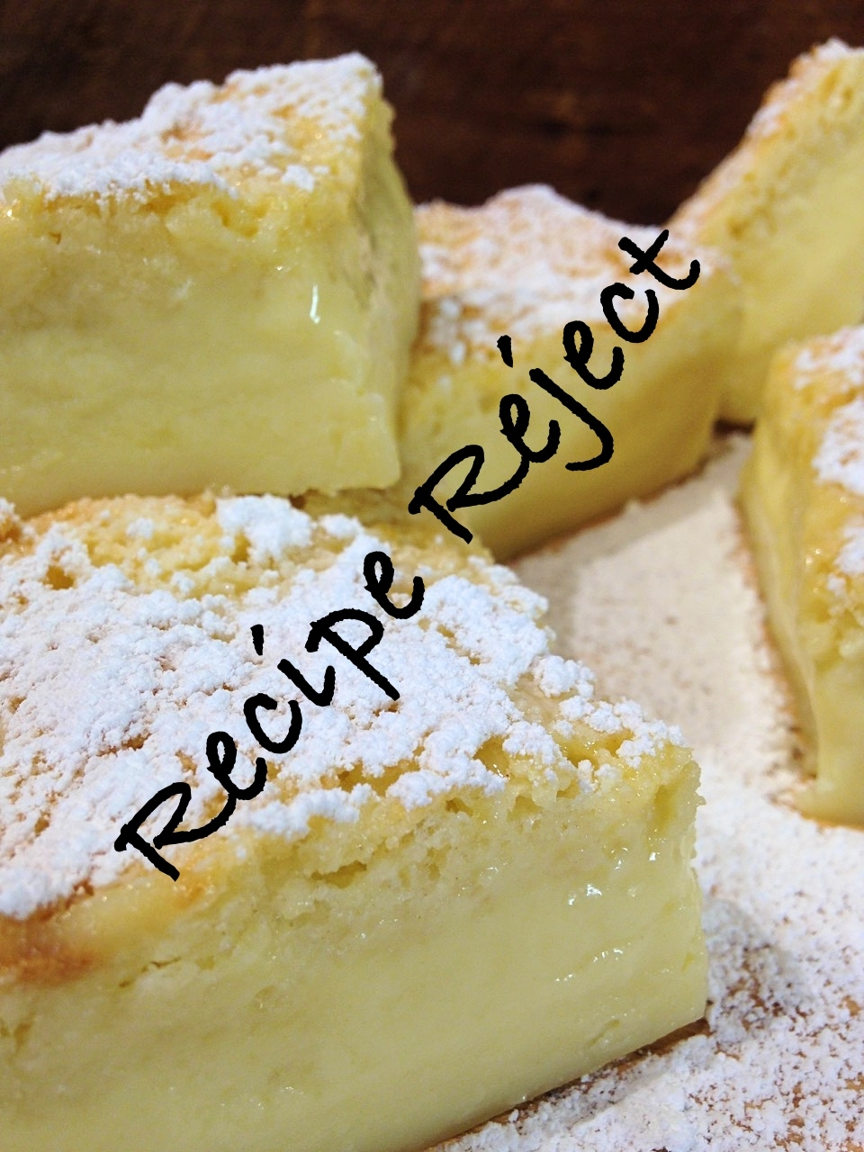 Magic Vanilla Custard Cake – Recipe Reject