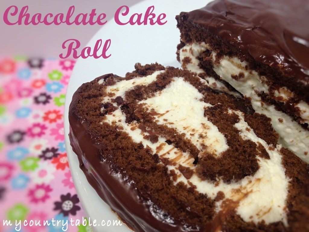 Chocolate Cake Roll - My Country Table