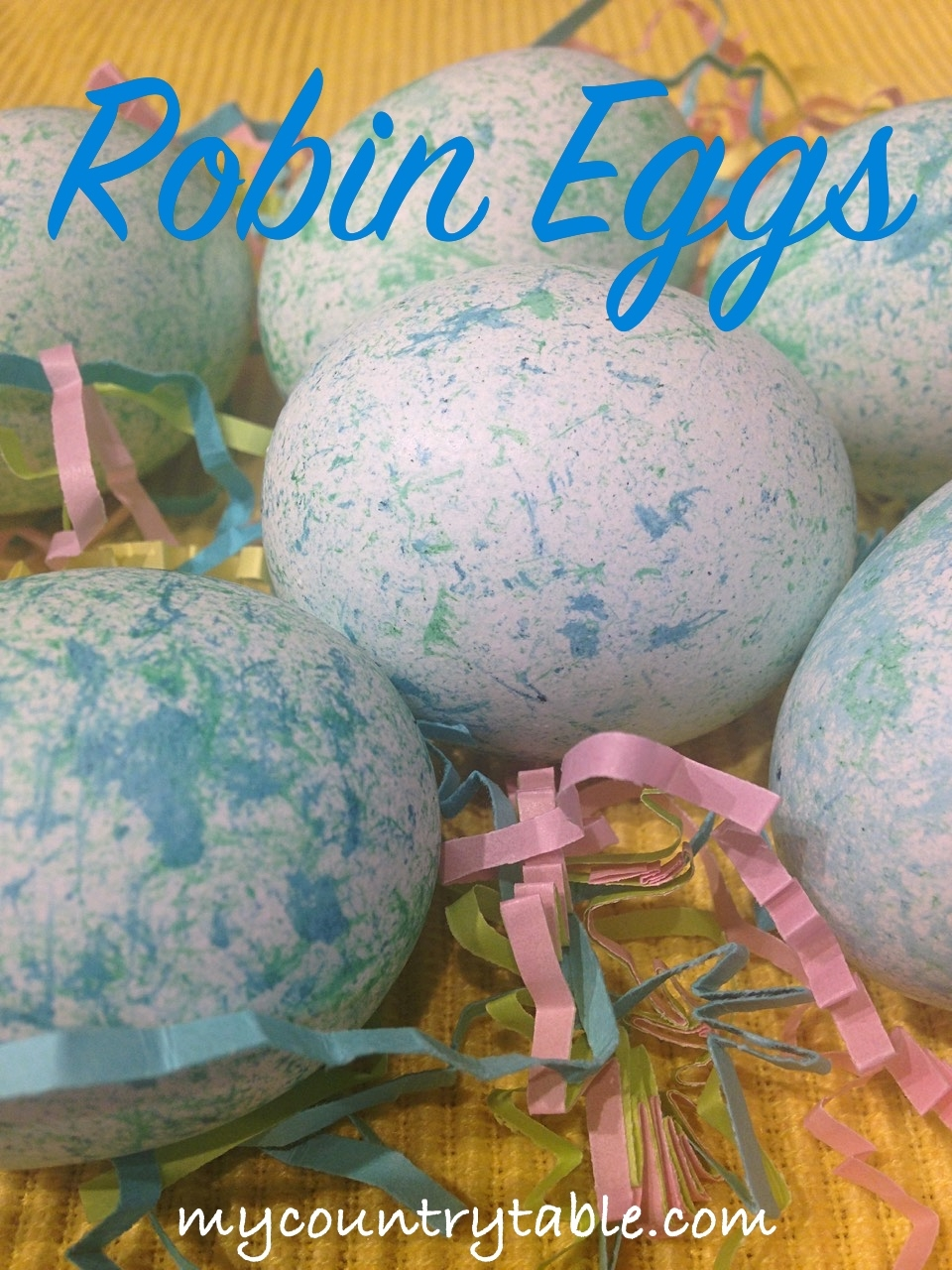 How To Make Robin Eggs