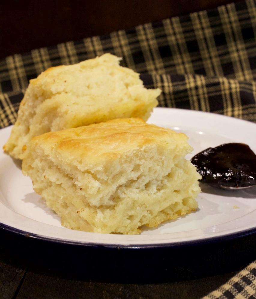 Buttermilk Butter Dip Biscuits