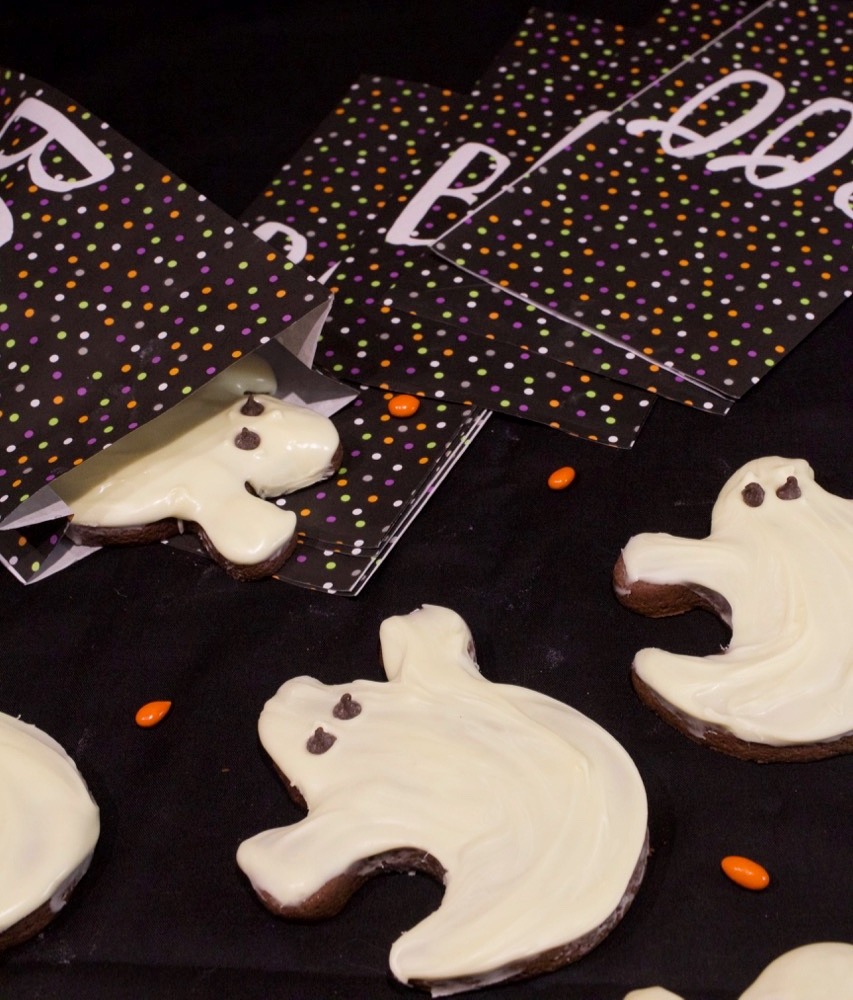 Halloween Ghost Cookies
