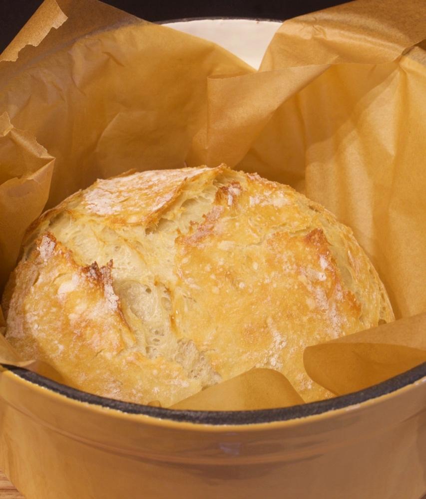 No-Knead Rustic Artisan Bread