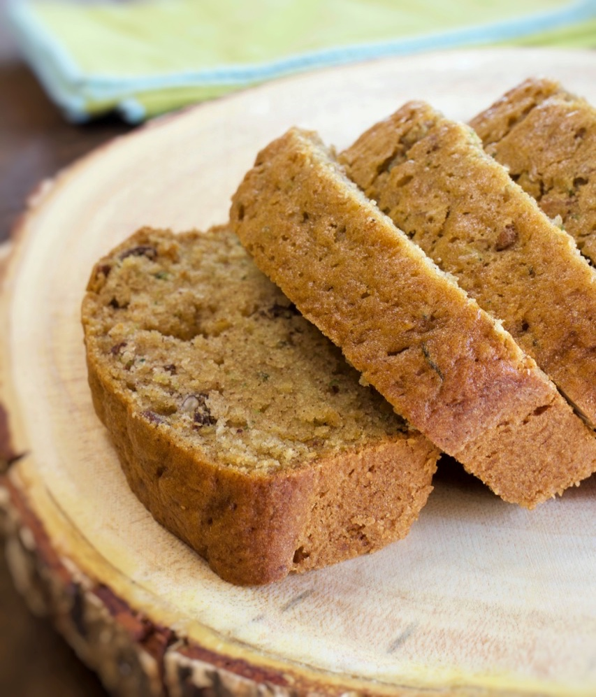 Moist Pecan Zucchini Bread