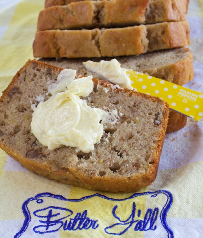 Perfect Banana Nut Bread