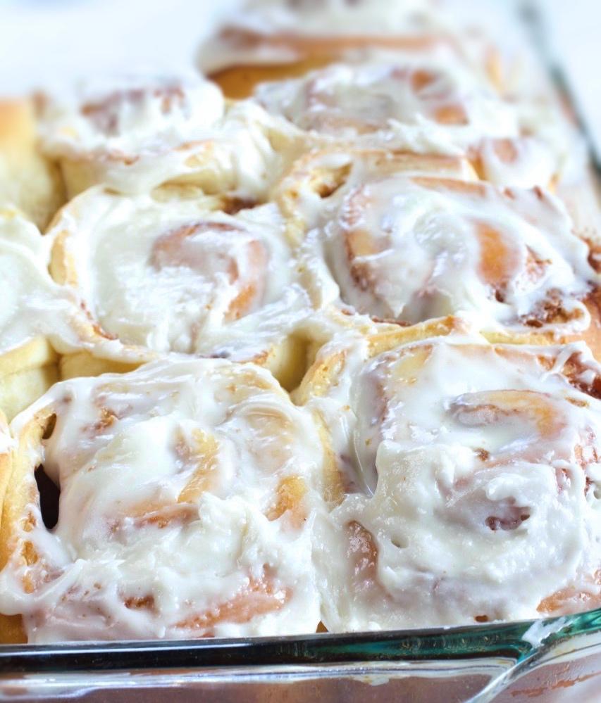 Classic Sweet Dough Cinnamon Rolls