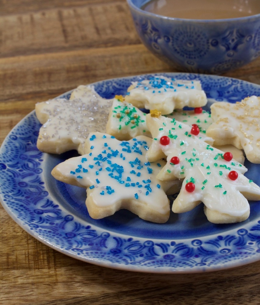 Christmas Butter Cookies My Country Table