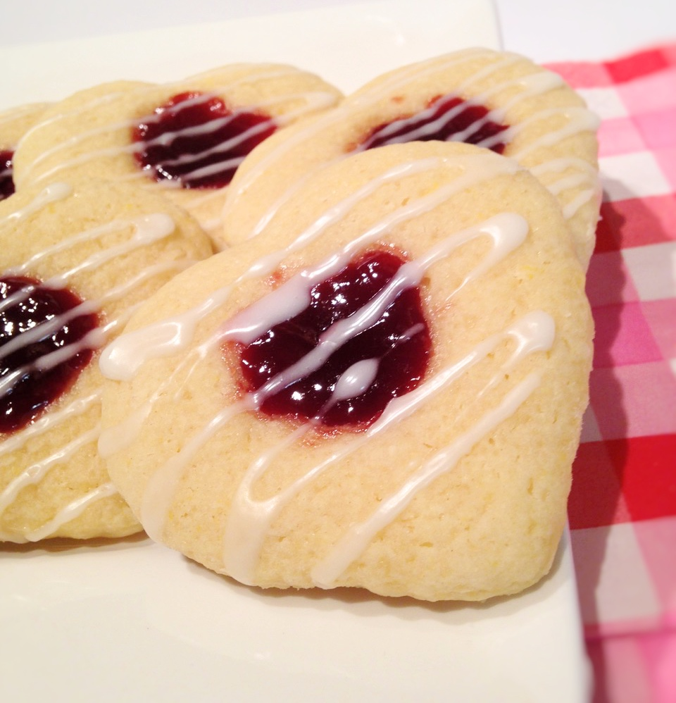 Bleeding Heart Cookies