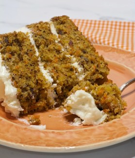 Super Moist Carrot Cake with Pineapple