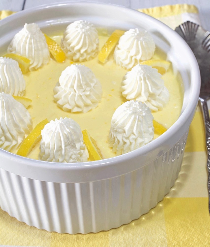 Fresh Lemon Mousse