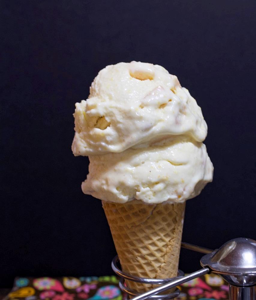 Country Peach Ice Cream