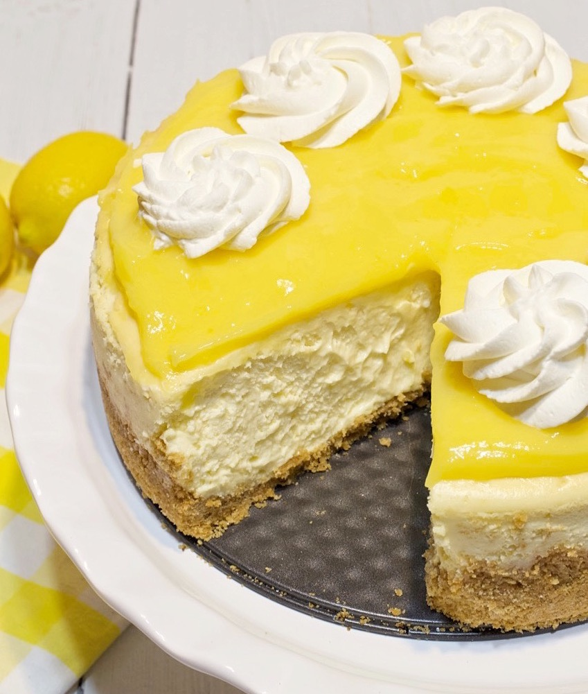 The Ultimate Lemon Cheesecake