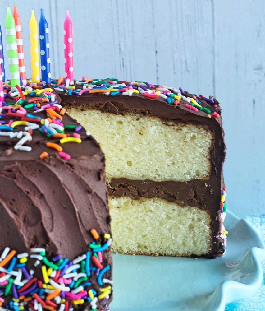 Light and Fluffy Yellow Cake