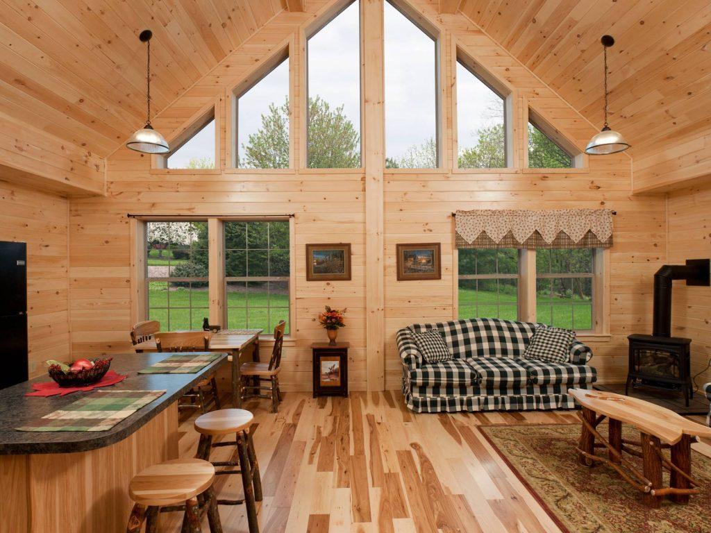 Log Cabin Interior Ideas Home Floor Plans Designed In Pa Best Kitchen  Gallery: Log Cabin Interior Design ...