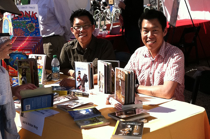 Holman and Jack - Cozy Classics - Tucson Festival of Books