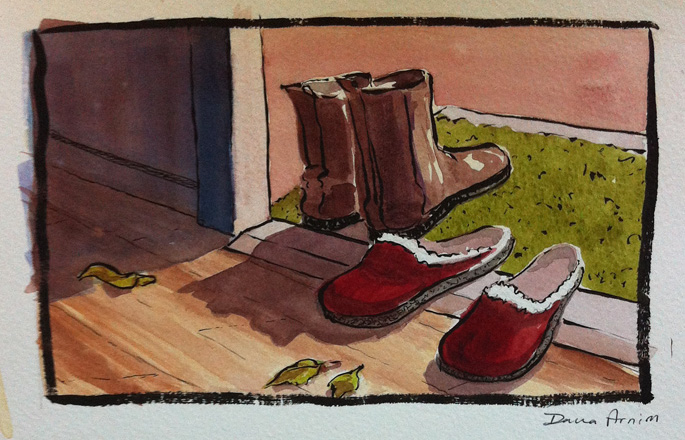 Cozy Classics - WA OR SCWBI Illustrators Retreat 12 (Dana Arnim)
