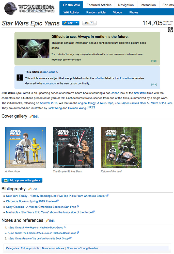 20141124 - Star Wars Epic Yarns - Jack and Holman Wang - Wookieepedia