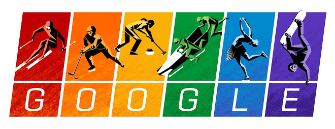 Google Doodle - 2014 Winter Olympics