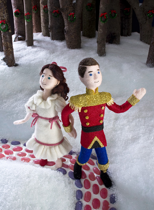 Cozy Classics The Nutcracker SNOW Jack and Holman Wang
