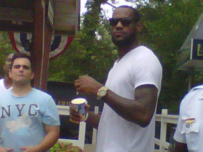 LeBron at Cedar Point