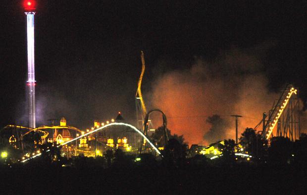 Cedar Point Johnny Rocket's Fire