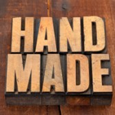 handmade in letterpress type