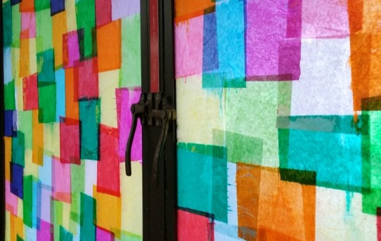 faux-stained-glass-windows-with-tissue