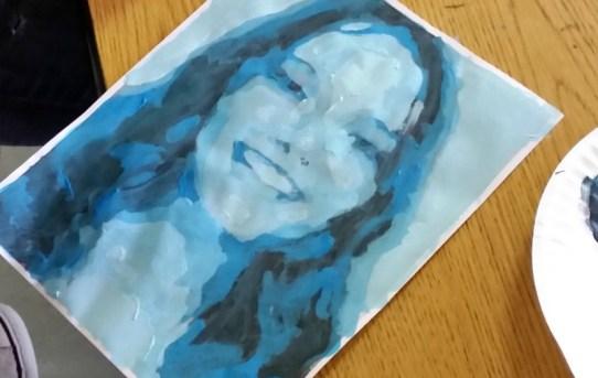 monochromatic-self-portraits