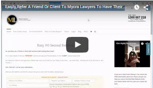 How to refer a friend or client with MyCRA Lawyers online referrer form
